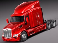 lightwave 579 semi truck