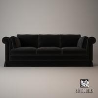 free sofa ritz 3d model