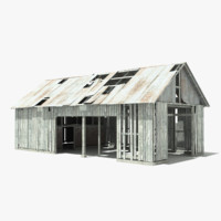 3dsmax small barn