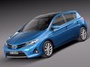 Toyota Auris 3D models