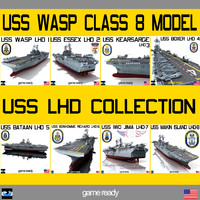 USS LHD Wasp Class Collection