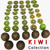 Kiwi Fruit Piece Slice