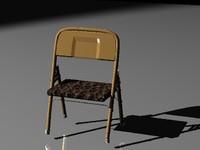 3d chair lightwave