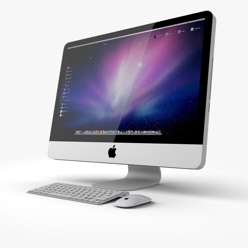 apple imac 3ds. Black Bedroom Furniture Sets. Home Design Ideas