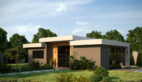 dwg modern house