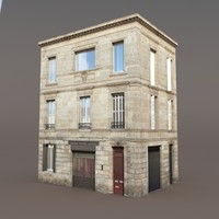 Apartment House #85 Low poly Models