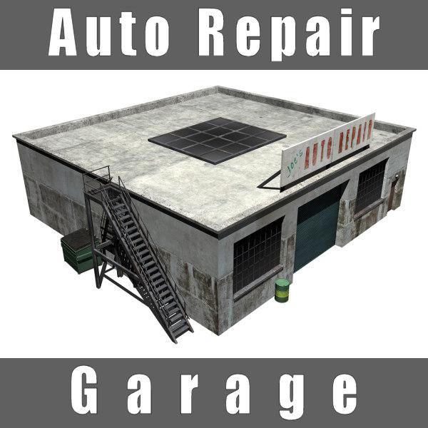 3d auto repair garage shop for Garage fix auto nimes