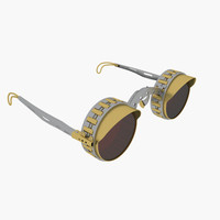 3d steampunk glasses