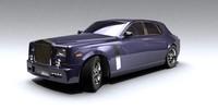 3d model of car render