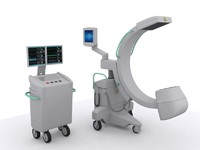 3d model x-ray machine c medical equipment