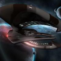 spaceship obj