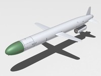 3d kh-55 cruise missile