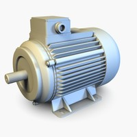 High Detailed Electric Motor