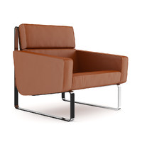 brown leather modern max