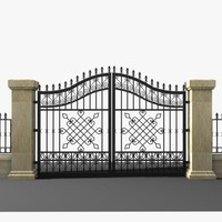 Wrought Iron Gate 17