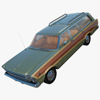 3d country squire 1966 model