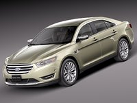 Ford taurus 3D models