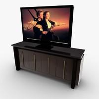 hdtv entertainment center 3ds free