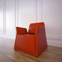 pio small armchair sancal 3d model