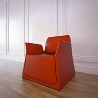 pio small armchair sancal 3d model