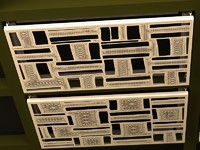 3d decor panel model