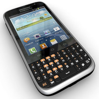 Samsung Galaxy Chat B5330 Android Smartphone Black