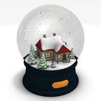 maya snow globe