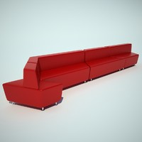 Steelcase office sofa