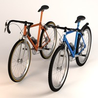 3d model bicycles mountain racing