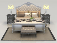 3d bed set bedroom