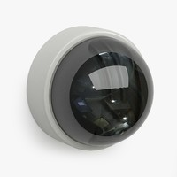 3d model security camera