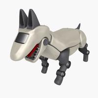 cyber dog 3d max