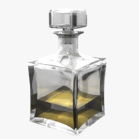 rhino glass johnnie walker decanter