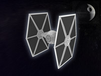 tie fighter 3d max