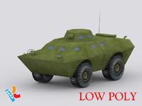 v-100 commando 3d model