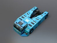 3ds max static tow truck