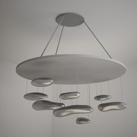 artemide mercury suspension lamp 3d max