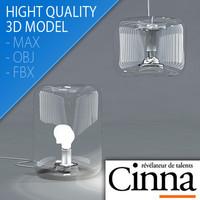 Design Lamp Bonbonne - Cinna - Ligne Roset - Jean-François D'Or