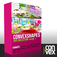 Convexshapes_Toys_collection