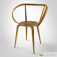 3ds max pretzel chair george nelson