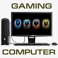 3ds max dell alienware gaming computer