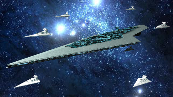star destroyer executor 3d model - EXECUTOR... by JIHS