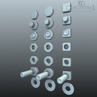 Hardware: Nuts,Bolts, and Washer SET1