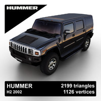 3ds max 2002 hummer h2