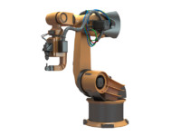 3d industrial robot arm