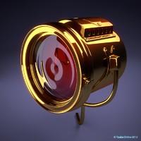 3d model lamp t