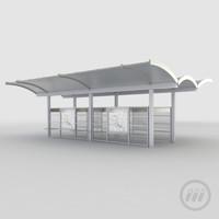 station 3d model