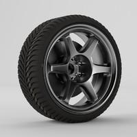 3d tire rim
