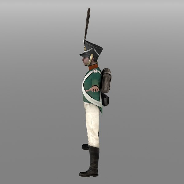 3d russian grenadier