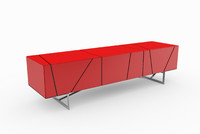 3d lines sideboard ligne roset model